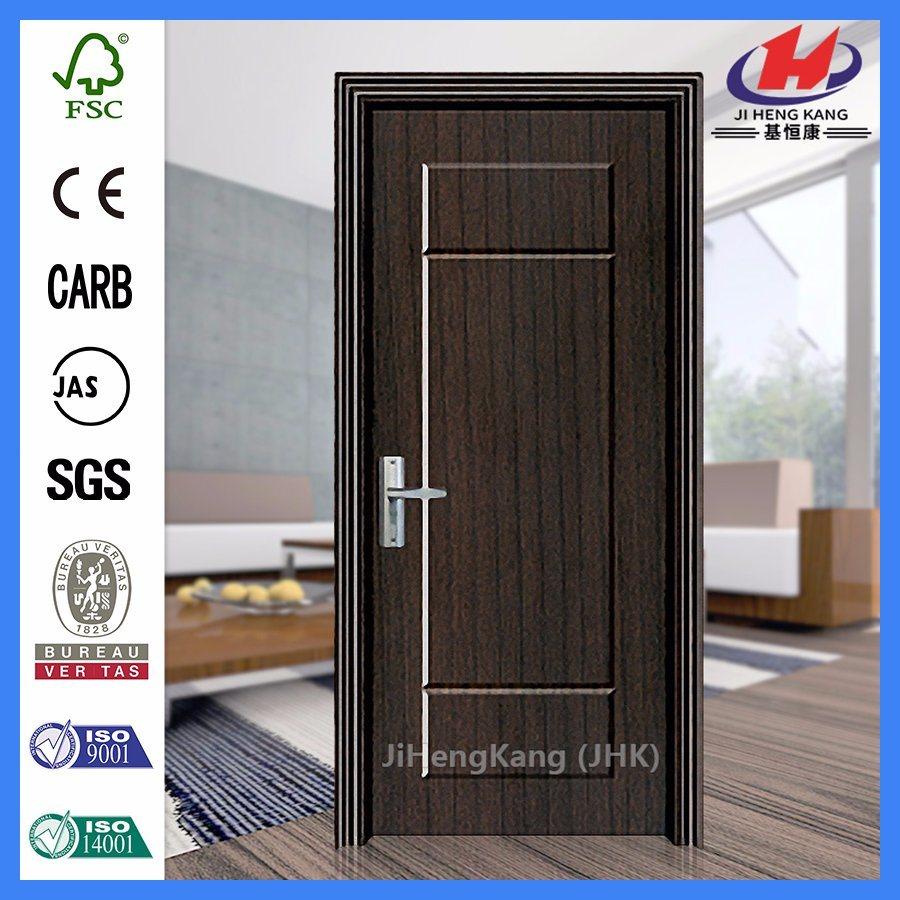 Bathroom Kerala Prices Plastic Laminate Interior PVC Doors (JHK P03)