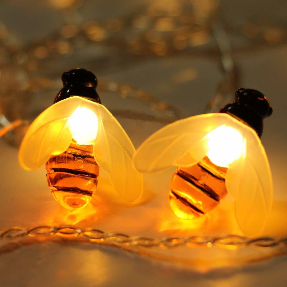 Factory Superb Quality Waterproof LED Bee Shape String Light pictures & photos