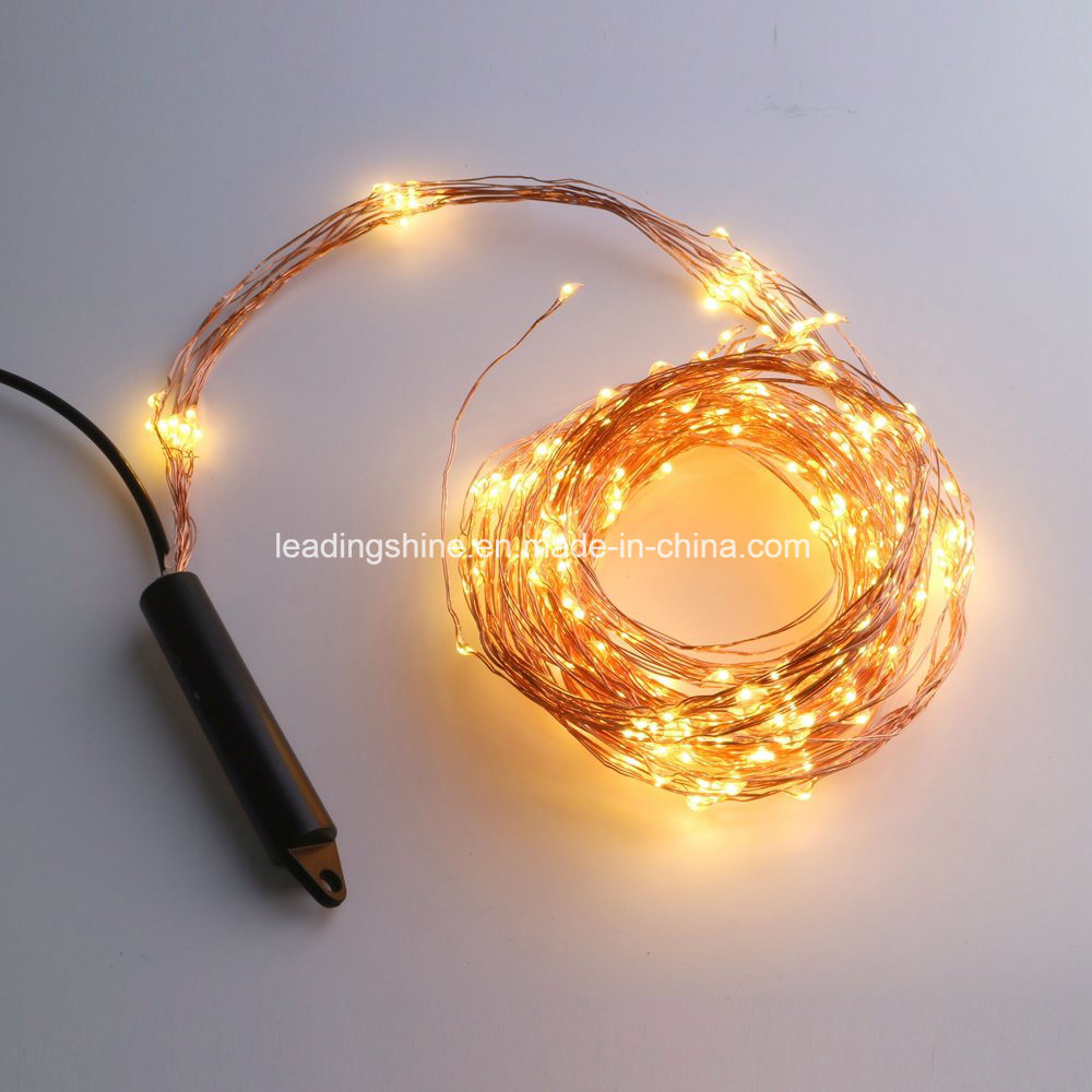 China Multi Stand Copper Wire Warm White Fairy Light Holiday Light ...