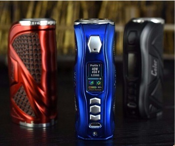 Top Selling Products More Color Hcigar Vt75 Color 18650/26650 Mod Hcigar Vt75c Box Mod