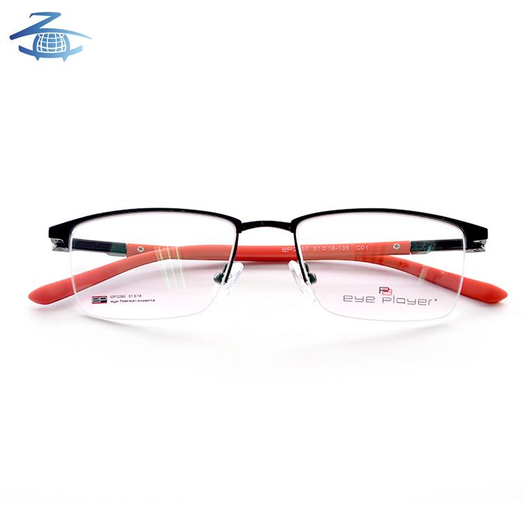 China Latest Glasses Frames for Girls Optical Frames Tr Face Metal ...