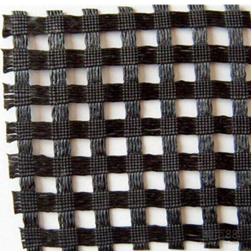 20-1200kn/M Wrap Knitting Polyester Pet Geogrid pictures & photos