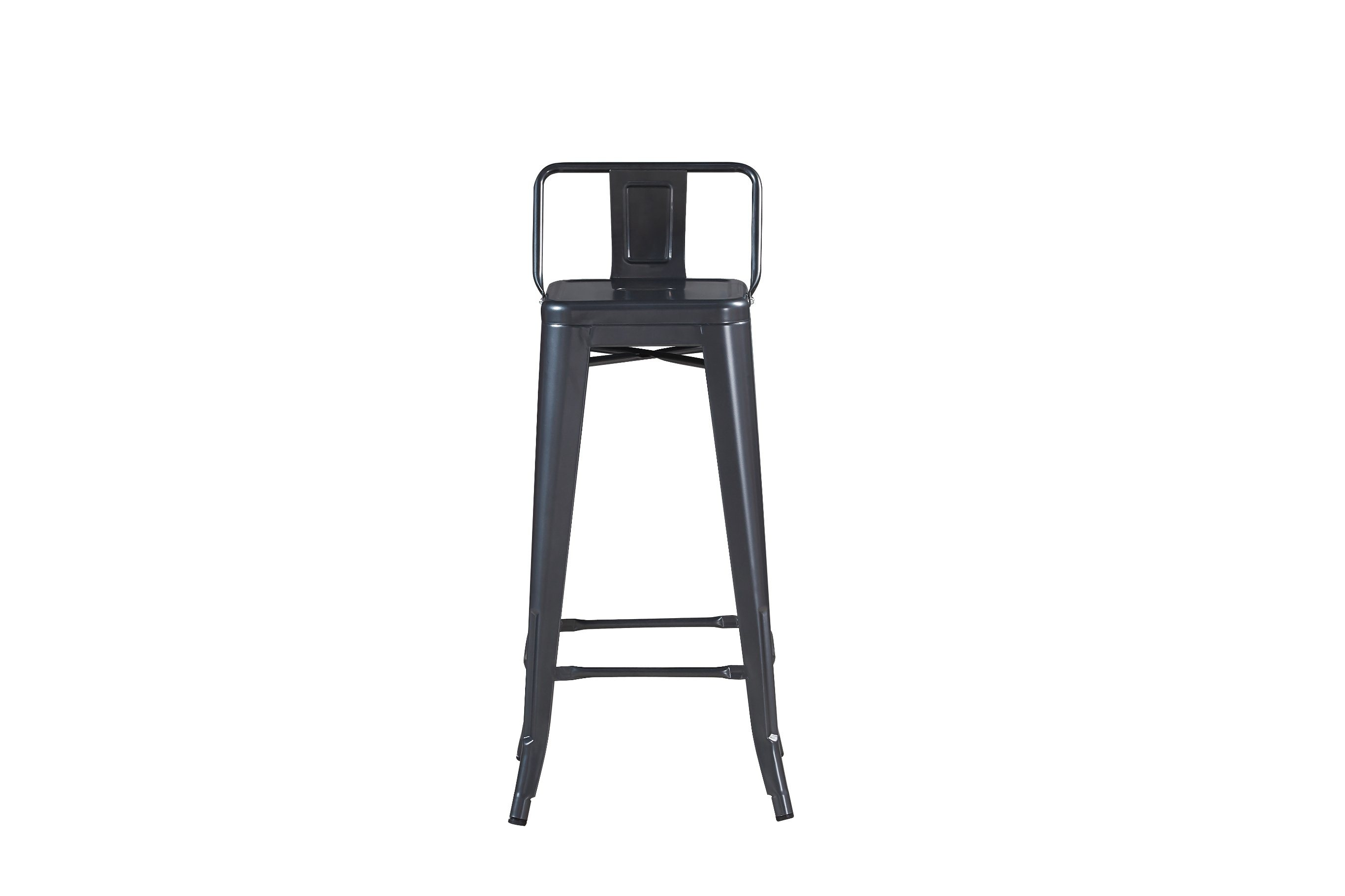 China Stackable Metal High Back Chair Bar Stool Chair For
