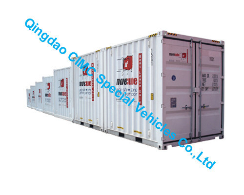 China Cimc Small Container 67 8 9 10 Ft Mini Container Truck Chassis China Mini Container Container