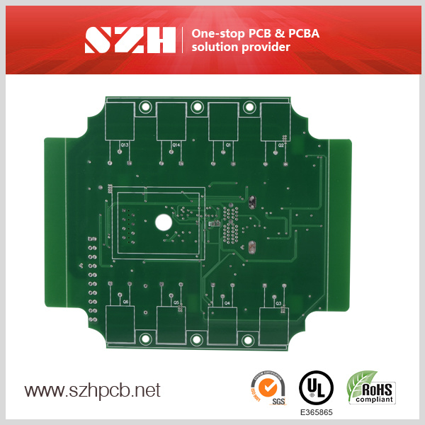 Fire Control System Rigid PCB Printed Circuit Board