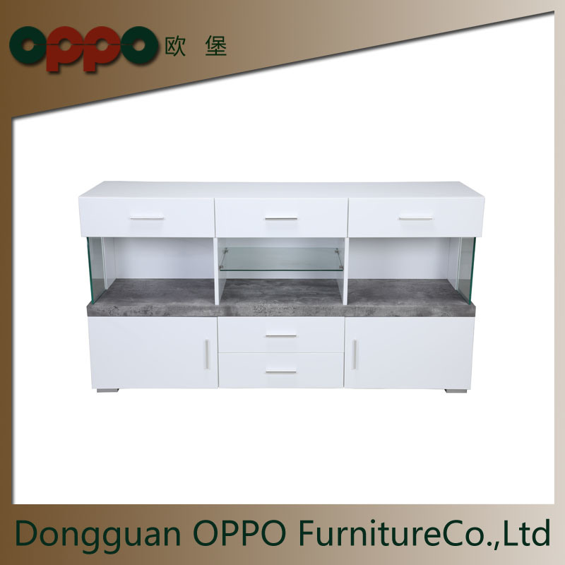 China Paper Or White High Gloss Cabinet Home Furniture Mdf With