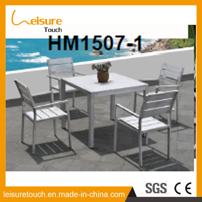 China All Weather Outdoor Durable Square Pedestal Coffee Table And