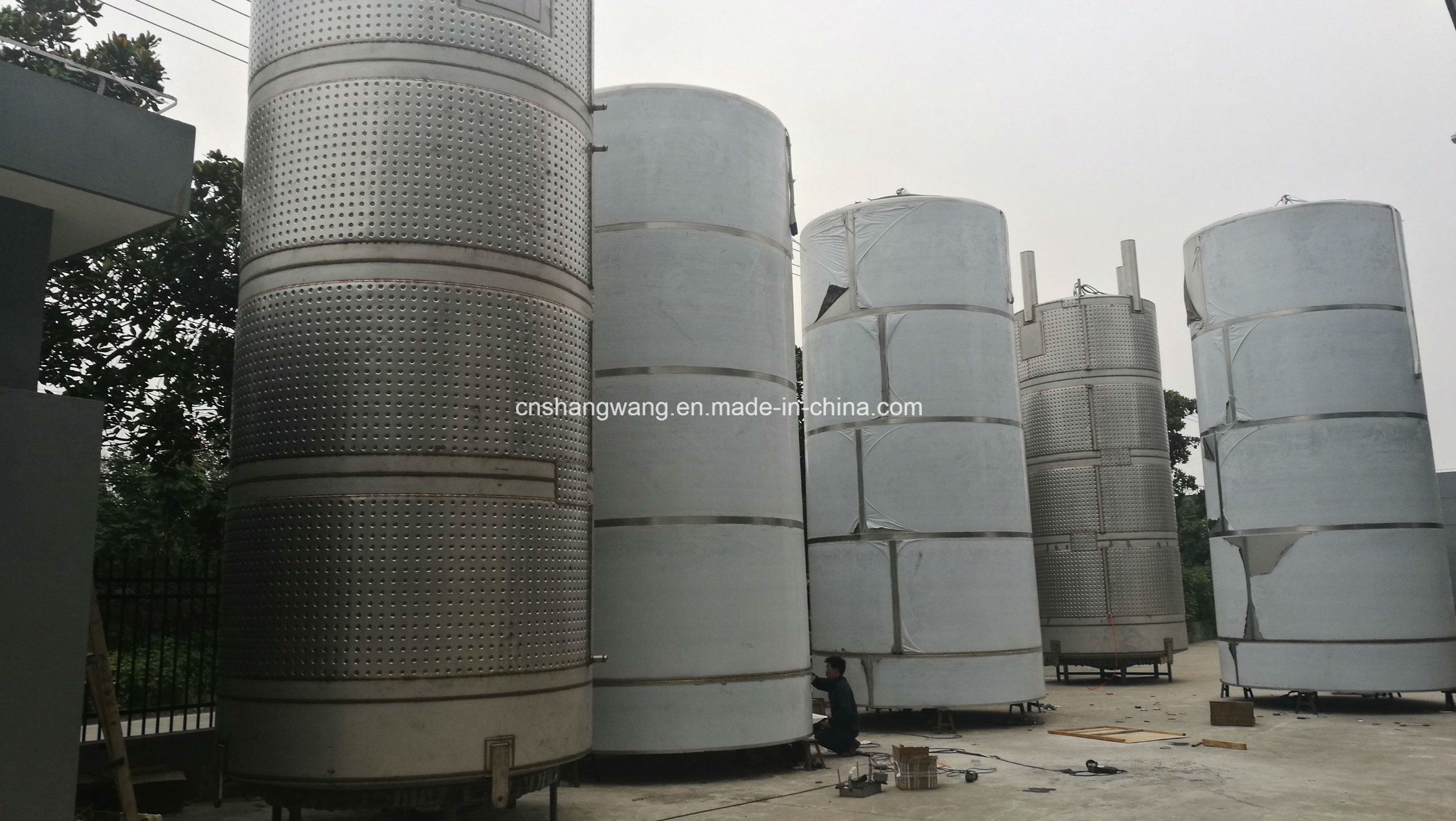 20000 Liter Outdoor Milk Storage Tank/Silo pictures & photos