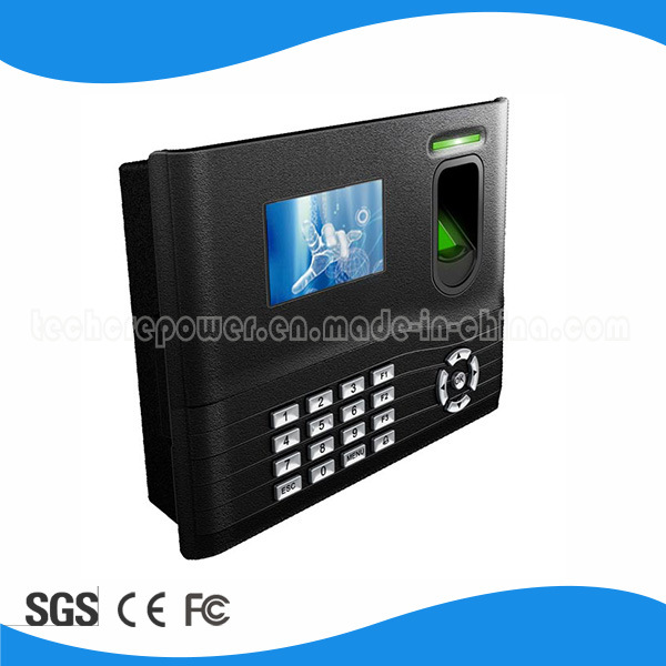 TFT Backup Battery Fingerprint Time Attendance with (WiFi/GPRS)