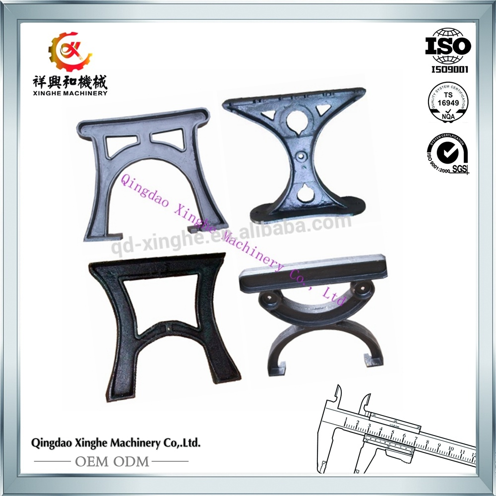 Oem China Cast Iron Table Legs Metal Desk Leg Casting