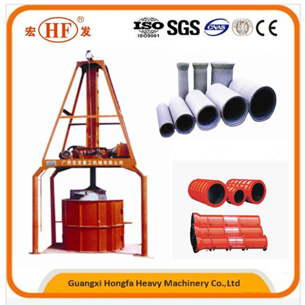 Automatic Hf V Hf Vertical Extruding Concrete Pipe-Making Machine pictures & photos