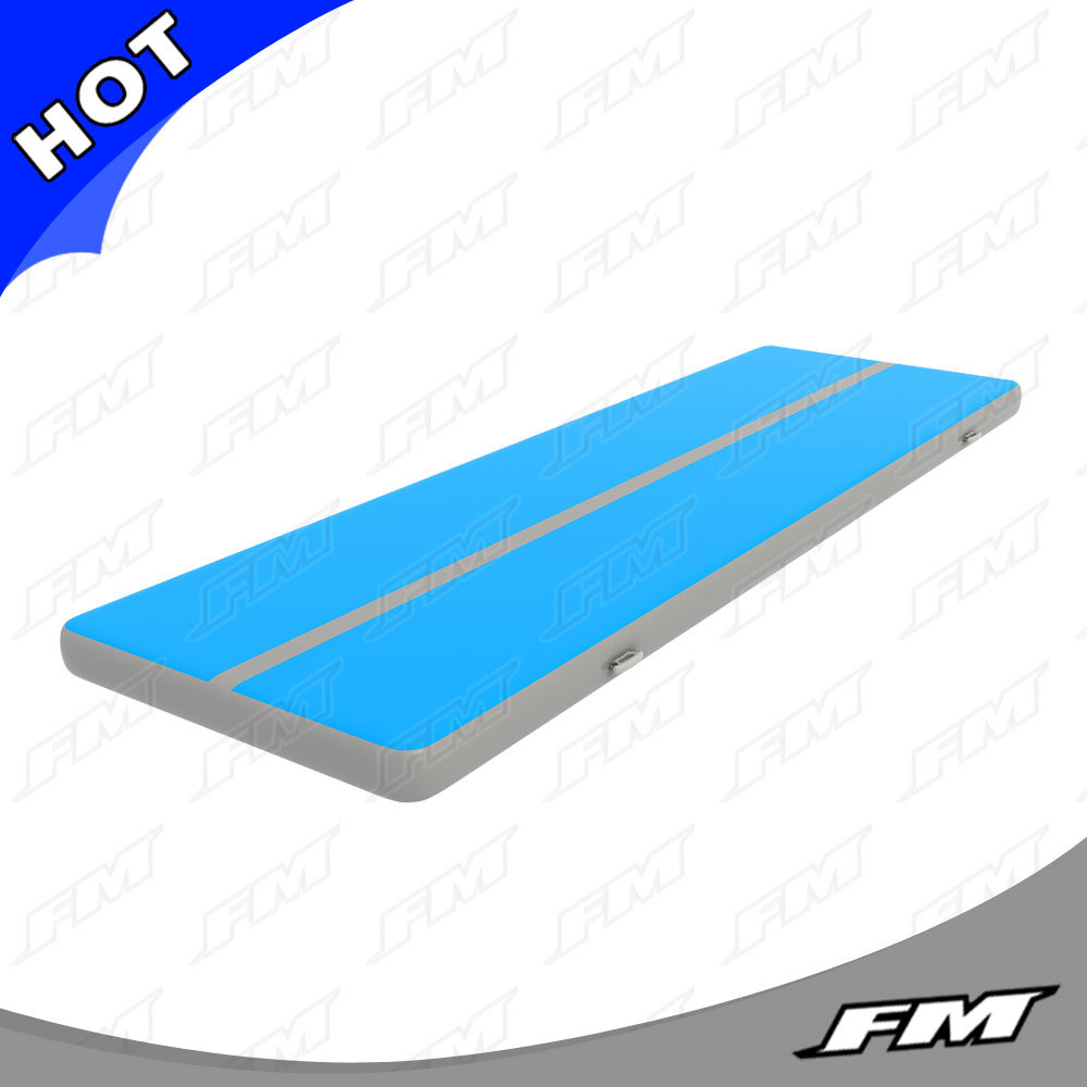FM 2X15m Dwf inflatable Gym Tumble Mat for Outdoor or Indoor