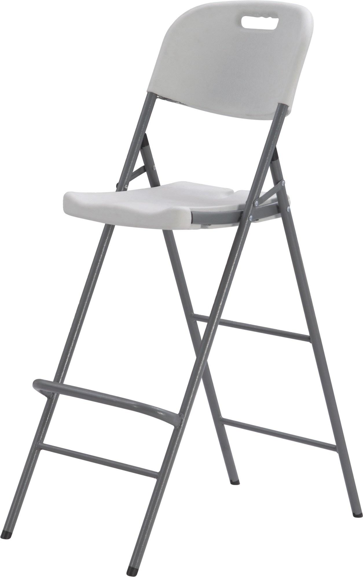 China Plastic Folding High Bar Chair Party Rental High