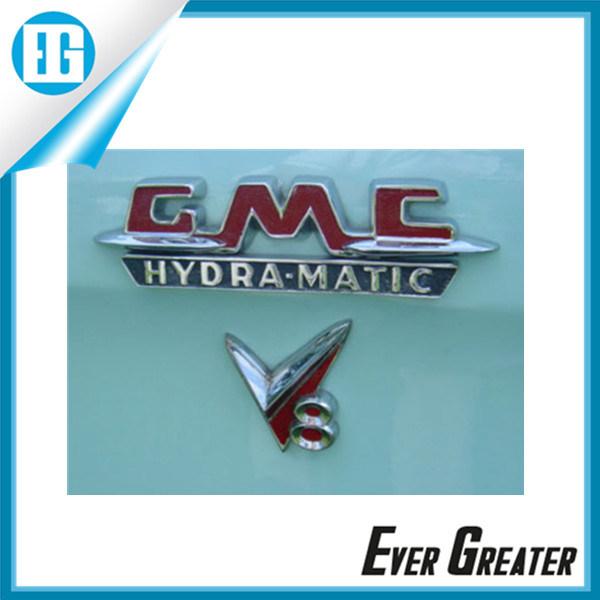 China Plastic Chrome Plating Car Emblem For Cars Abs Badge China