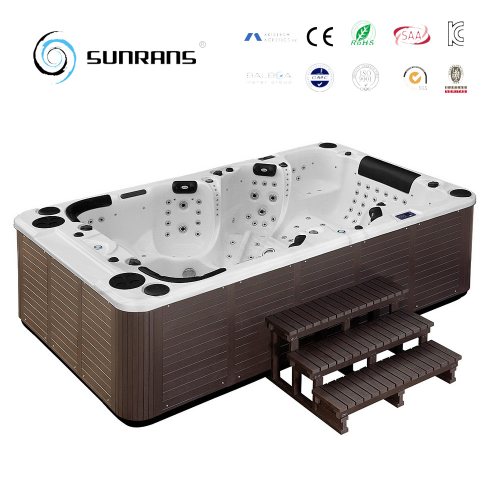 China Portable Inflatable Hot Tub Spas Outdoor Indoor with Balboa ...