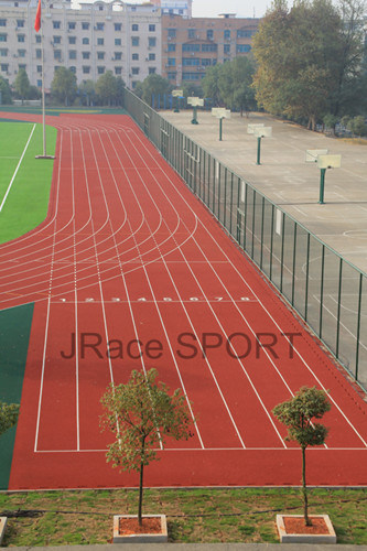 400m 8lanes Stadium Athletic Tracks Surface (IAAF, CE)