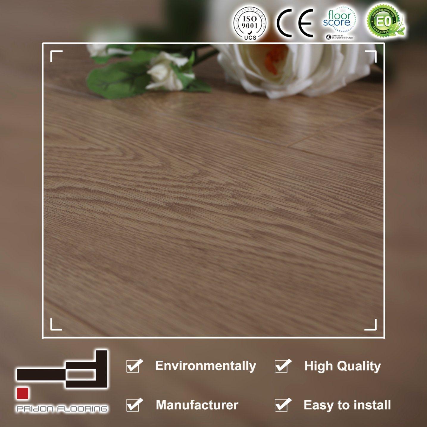 12mm V Groove White Oak Eir Surface Laminate Flooring