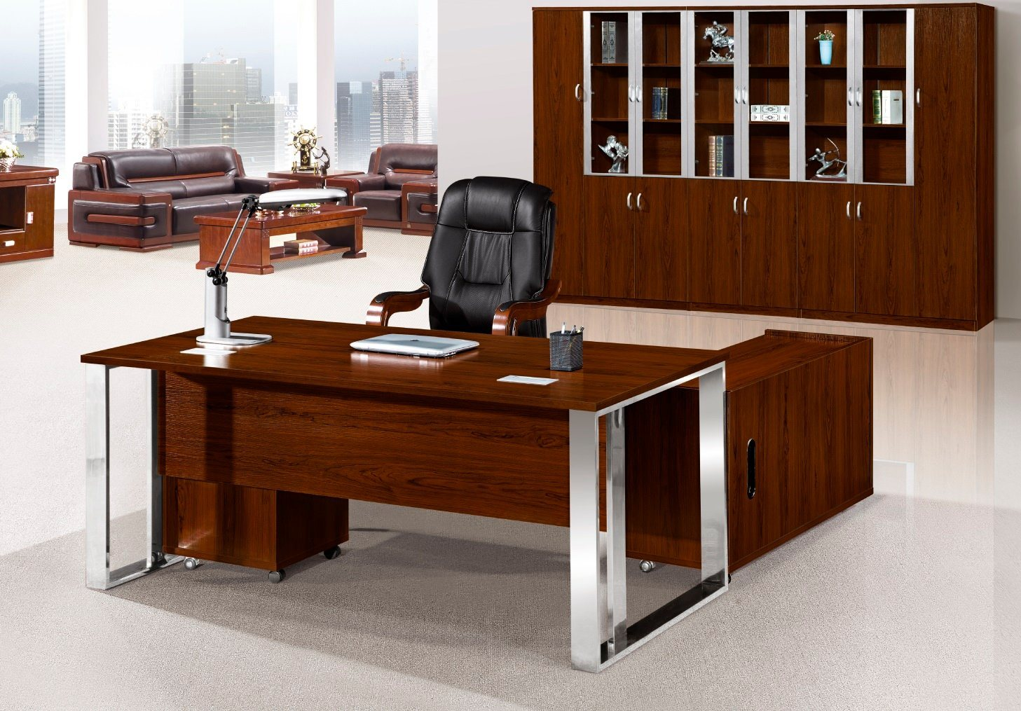 - China Melmine Office Table Executive Desk Meeting Table Office
