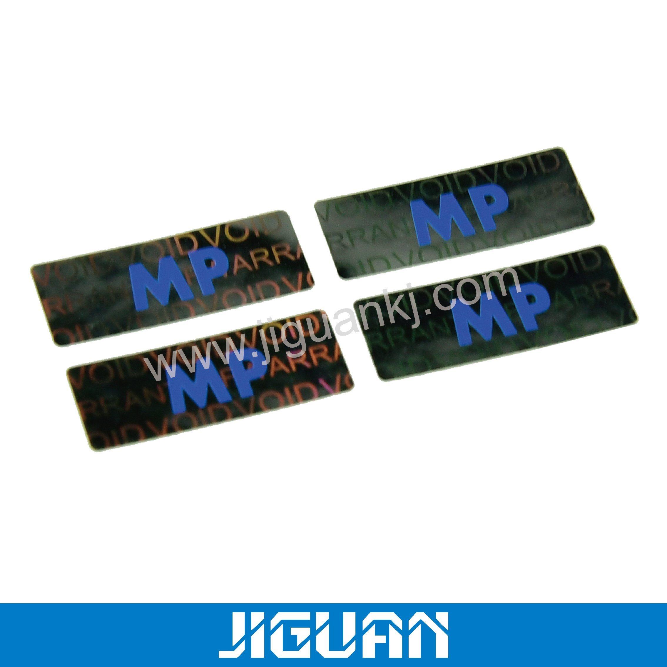 Cheap price custom hologram security sticker label