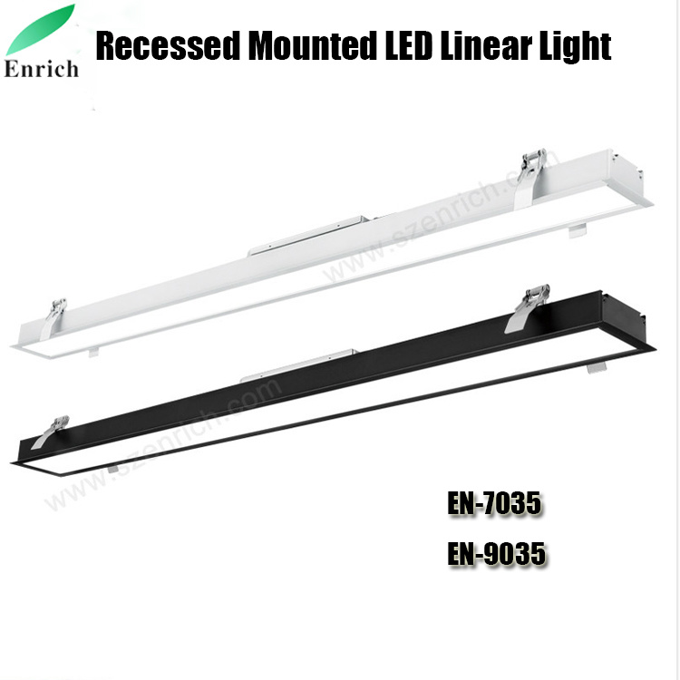 4ft Led Shop Light >> Hot Item 40w Linkable Led Wraparound Flushmount Linear Light 4ft Led Shop Light Led Wrap Light Led Linear Indoor Lights Led Puff Light Led