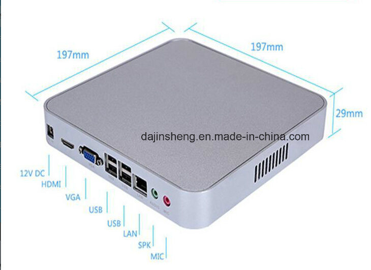 J1900 Quad Core Factory Outlet Mini HTPC Thin Client pictures & photos