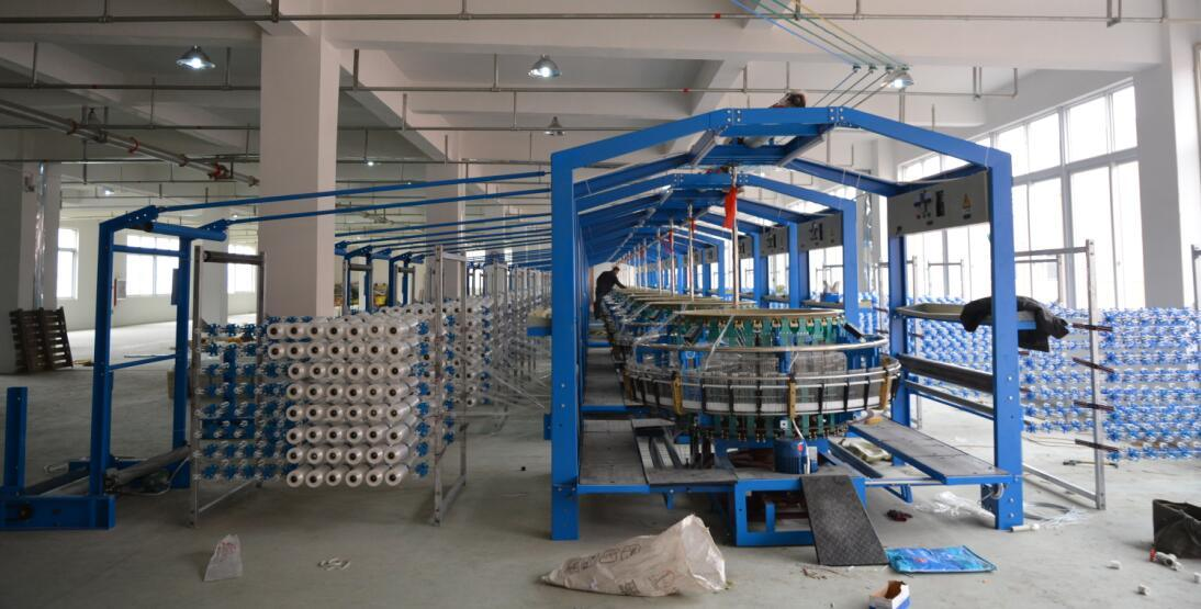 Four Shuttle Circular Loom for Making PP Woven Sack Bag