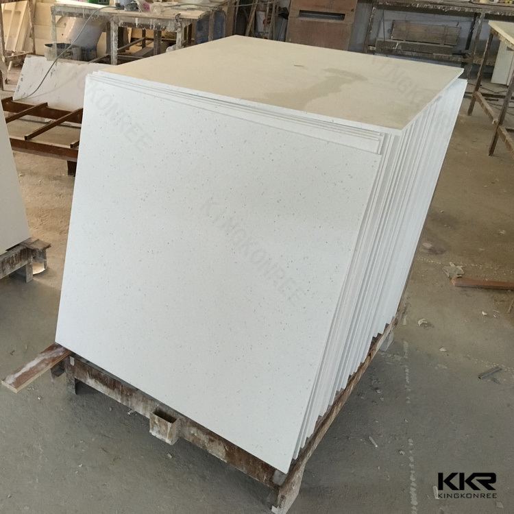 Chinese White Marble Quartz Flooring Tiles For Bathroom Q1705084