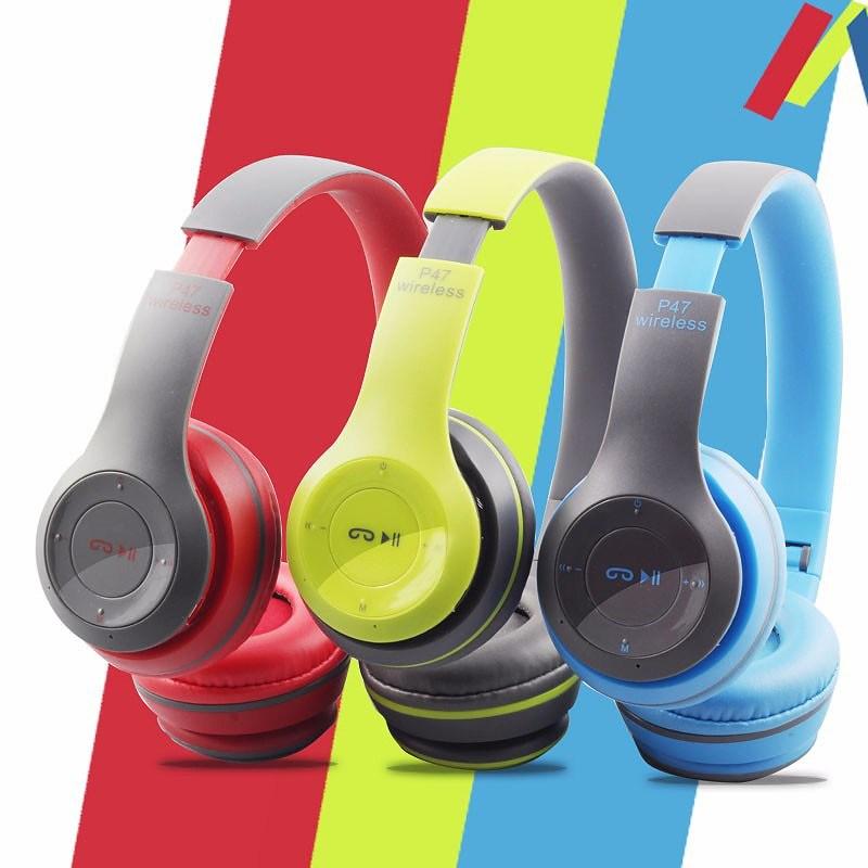 China P47 Wireless Headband Headphone Bluetooth Headphones Pc Gaming Headset China Wireless Headphone And Bluetooth Headphone Price