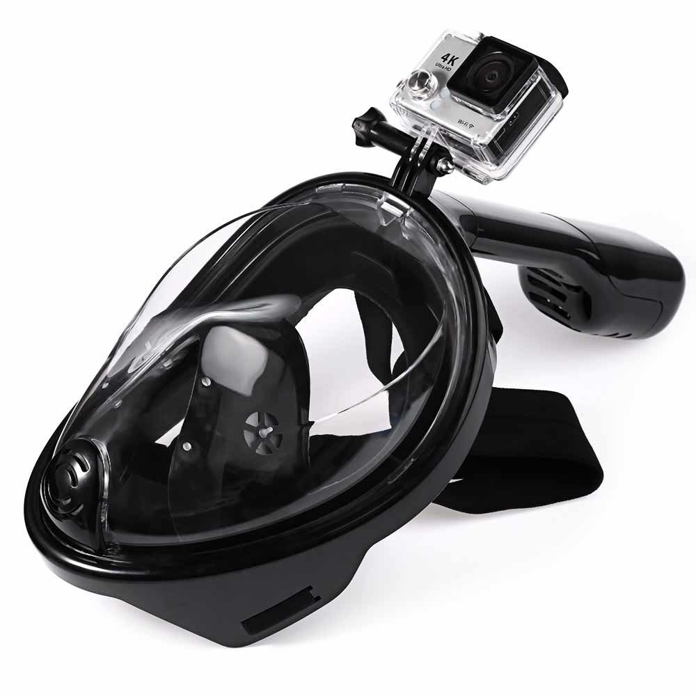 2017 Hots Sales Products Free Breathing Snorkel Mask Waterproof Anti-Leak Diving Mask with Camera Mount pictures & photos