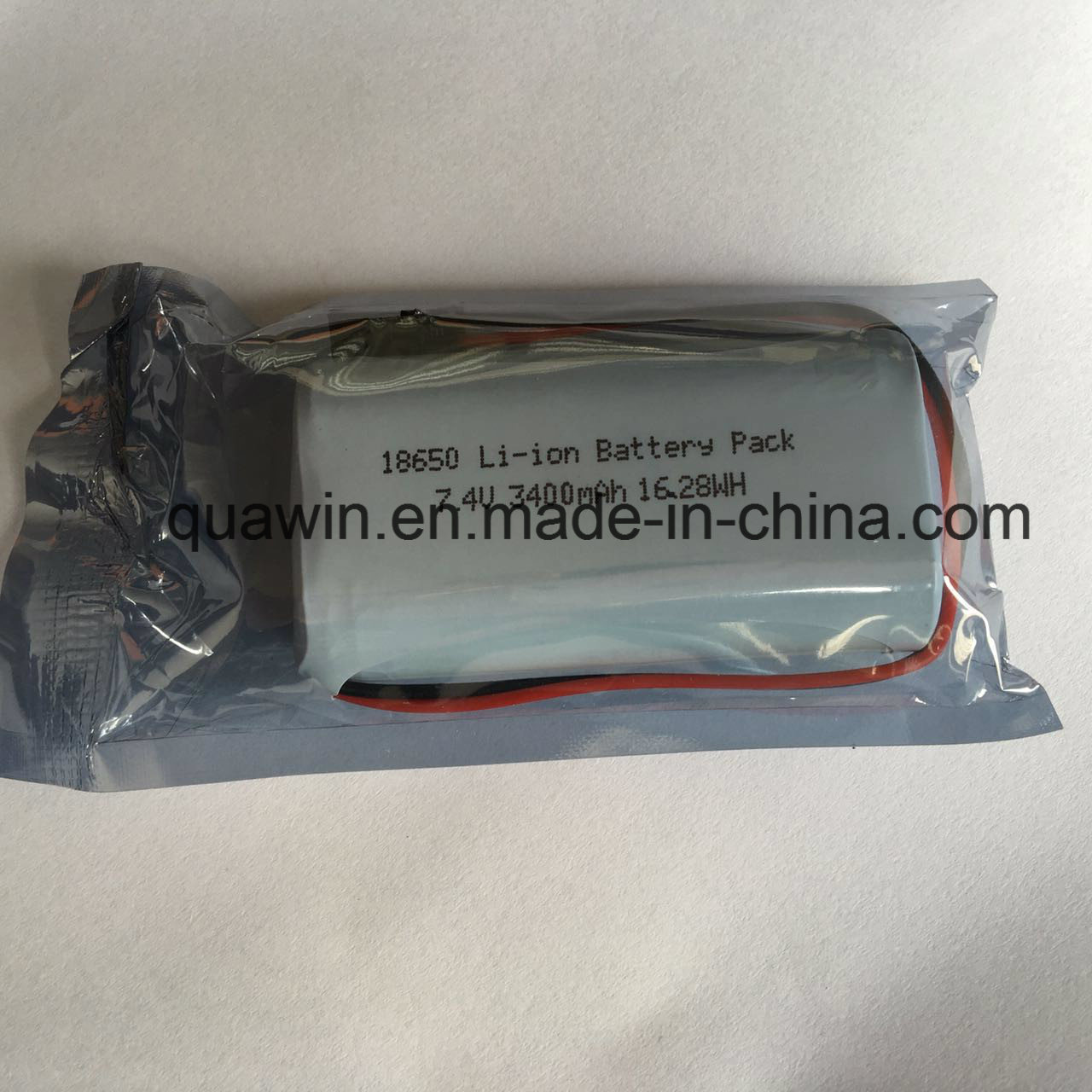 2s1p 7.4V 3400mAh Panasonic Cell 18650 Lithium-Ion Battery Pack