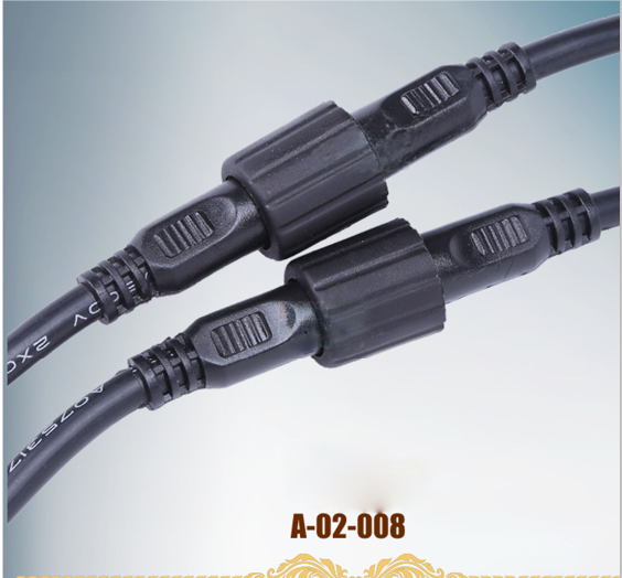 [Hot Item] Wire to Wire IP68 Waterproof Connector 2-5pins on