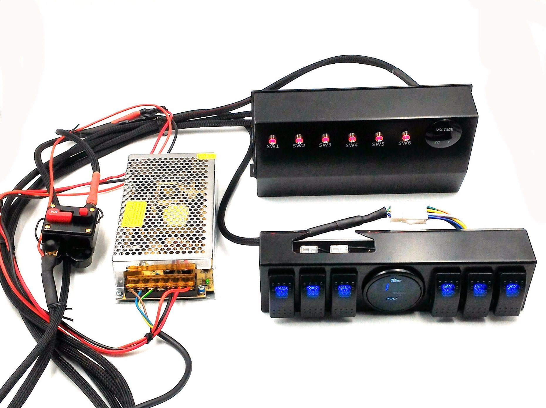 China Wrangler Jk 6Switch Panel with Control and Source System