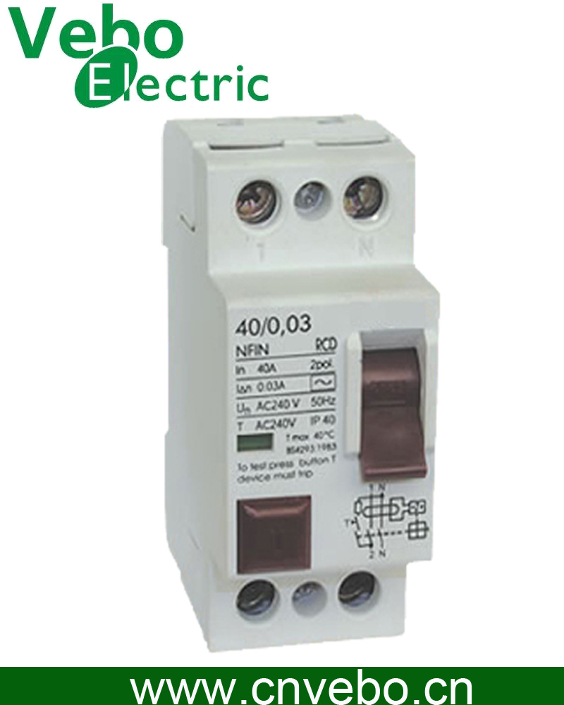 China Nfin Rcd Residual Current Device Circuit Breaker Switch With Relay Contactor Breakers