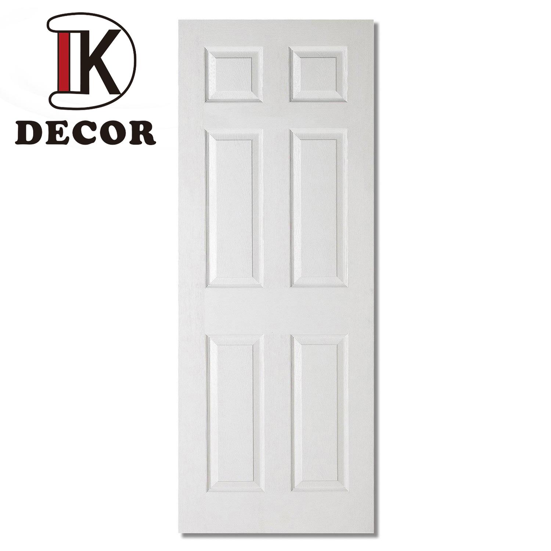 6 Panel Cheap Hollow Core White Primer Hdf Moulded Door China Hdf Moulded Door 6 Panel Door Made In China Com