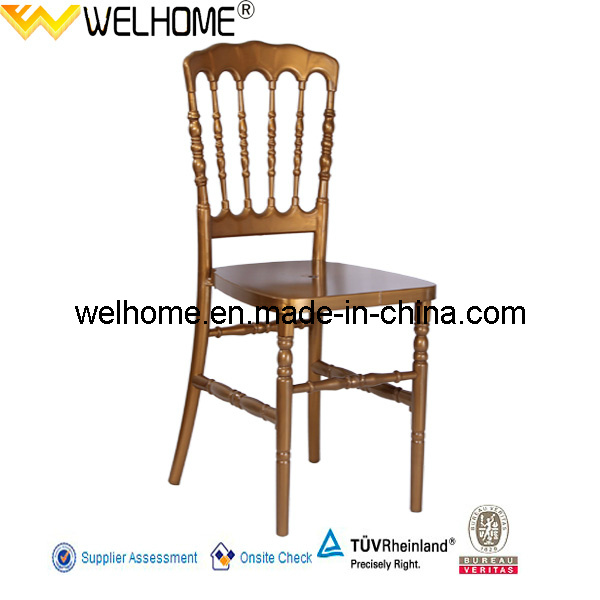 Plastic Resin Napoleon Chair for Party/Wedding/Event Rental