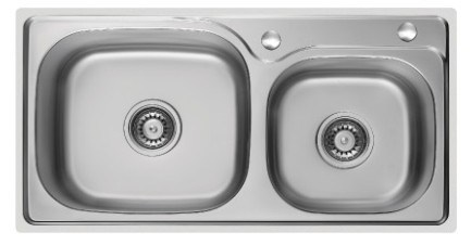 Double Bowls Stainless Steel Sink (7741) pictures & photos
