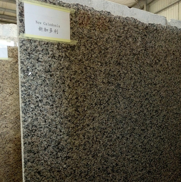 China Whole Est Natural Stone New Caledonia Brown Bookmatch Granite Slabs Tiles