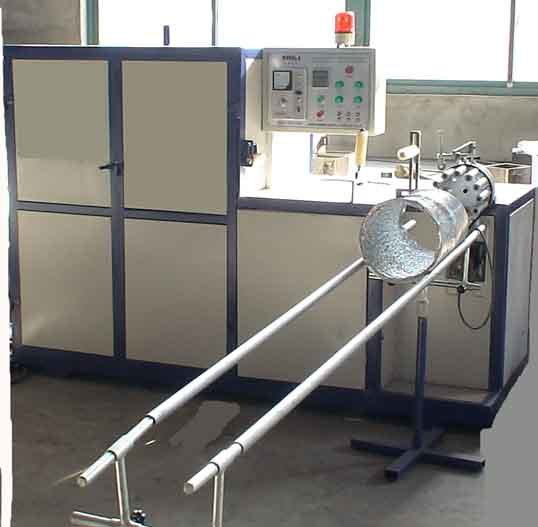 Flexible Aluminum Duct Making Machine