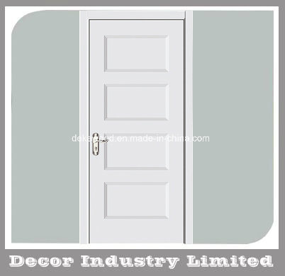 China Internal White Primed Shaker 4 Panel Door China Interior