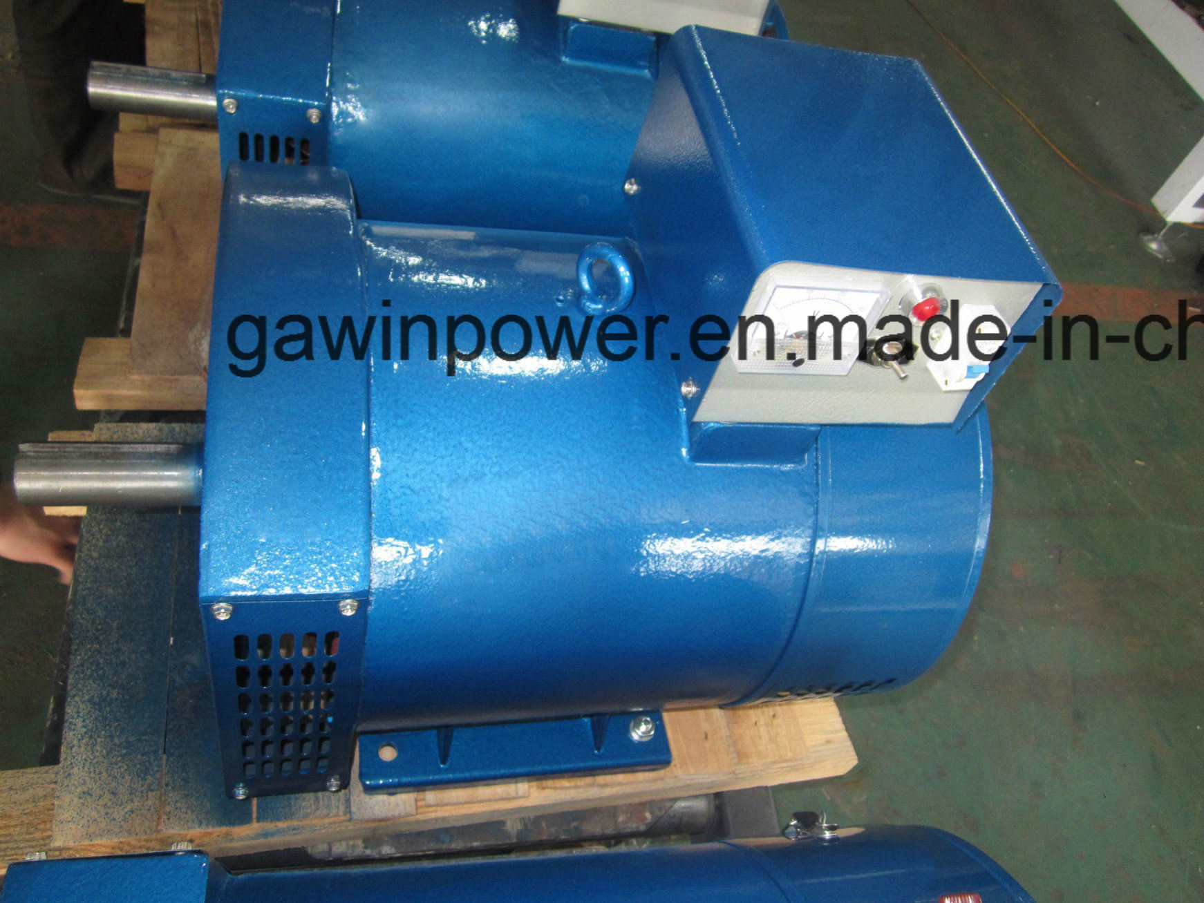 China Three Phases Stc Brush Alternator with 100% Copper Wire ...