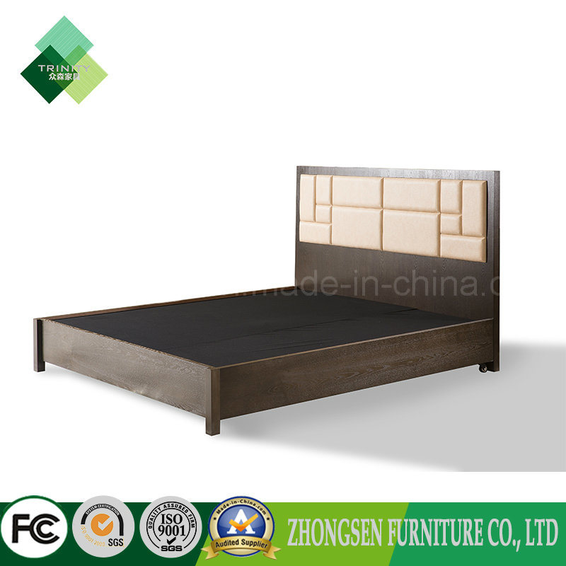 China Modern Furniture Wooden Double Bed Design Bed Frame For Sale
