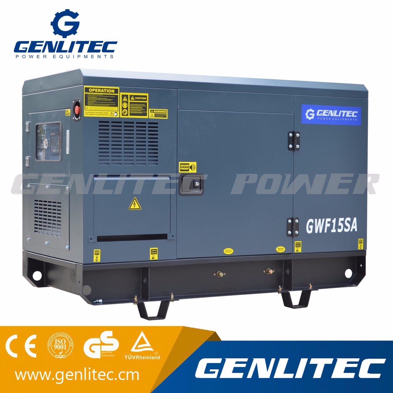 China 12kw 15kVA Portable Diesel Generator with Diesel Engine