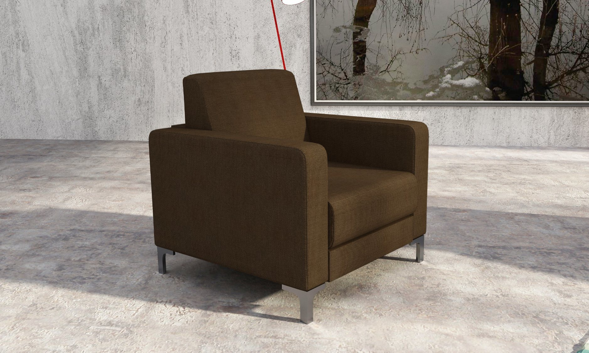 Modern Office Furniture Sofa Set With Steel Legs