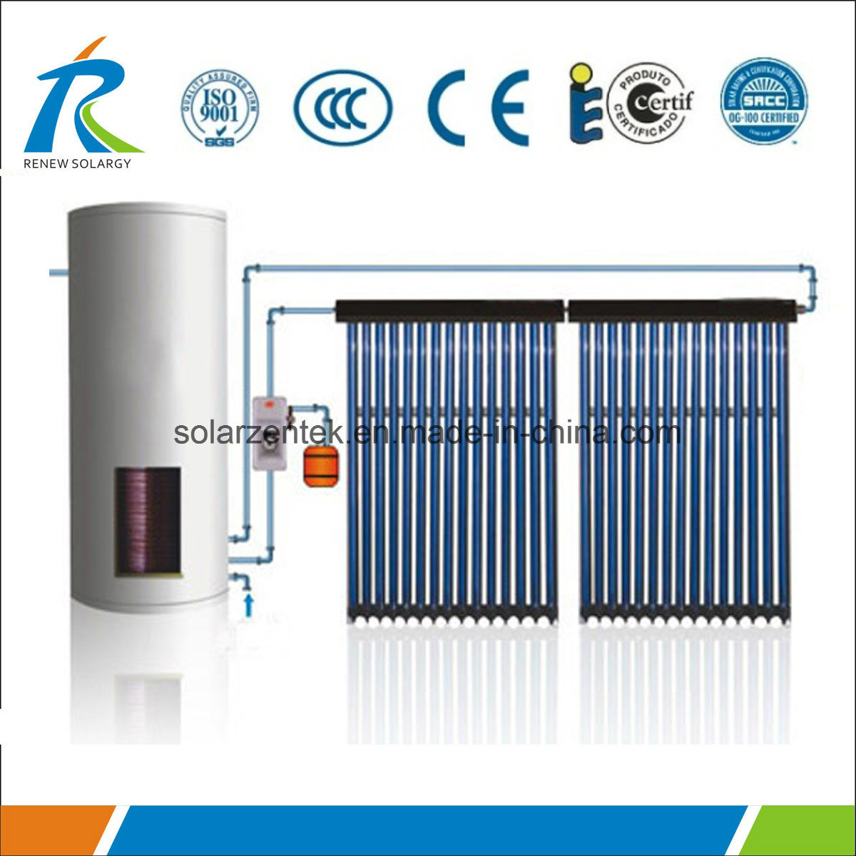China Factory Direct Solar Evacuated Tube Collector Photos ...
