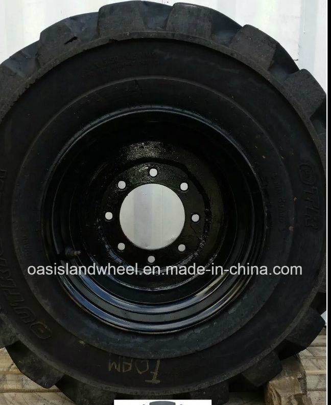 China Polyurethane Filling Tyre / Foam Filling Tyre for