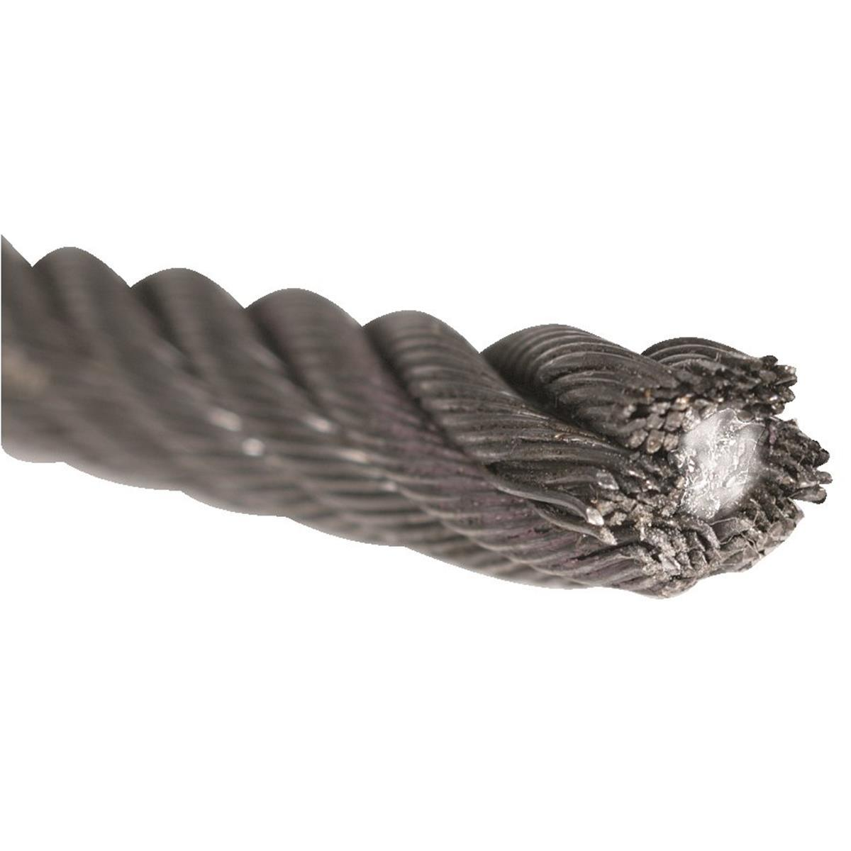 China 1X7 7X7 7X19 PVC Coated Galvanized Wire Rope 10mm - China ...