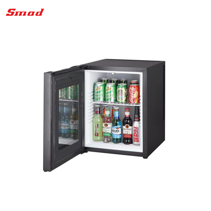 China Thermoelectric Glass Door Hotel Minibar Fridge Bcw 40b
