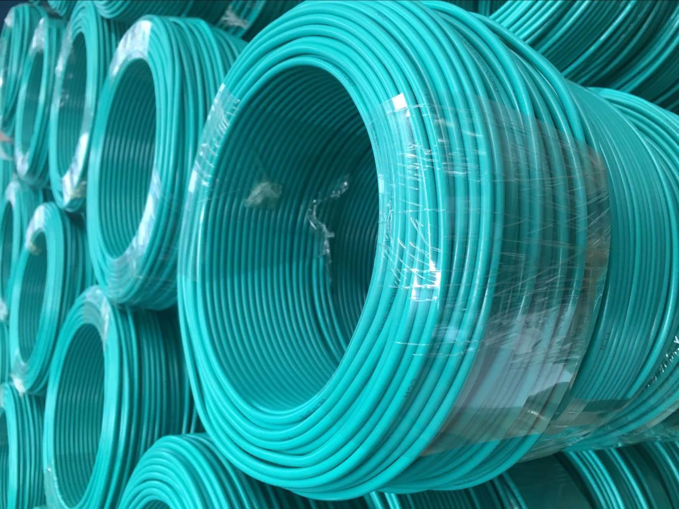 China H07V-U PVC Insulation 2.5 mm Bare Copper Electrical Wire ...