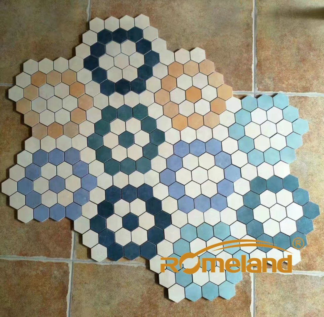 Mosaic Floor Tile That Look Marble From China - China Marble ...