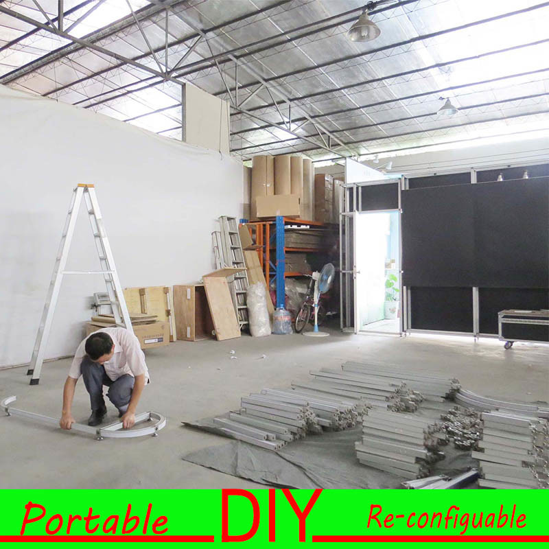 Exhibition Stand Installation : China diy modular display stand installation trade show